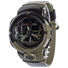 casio g shock ga 500k 3a shock resistant men watch olive and black zoom