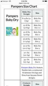Babies R Us Diaper Size Chart Pampers Newborn Size Chart