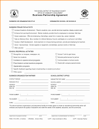 Partnership Agreements Free Partnership Agreement Template Fresh Partnership Agreements 7