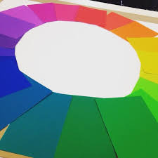 Color Aid Chart Hand Picked Color Aid Munsell Color Wheel My Art