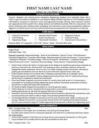 Automotive Engineer Resumes Automotive Engineer Resume