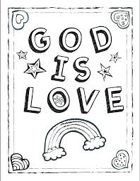 Ideas God Loves Me Coloring Pages Free And Made Page Holiday 41