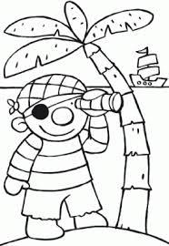 Kleurplaat Ko De Piraaat Florinehorizonyurlsnet Thema Piraten