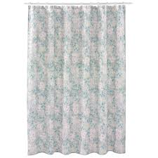 brown and beige shower curtain. lc lauren conrad meadow fabric shower curtain brown and beige