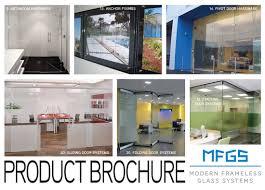 modern frameless glass systems use