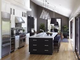 One Wall Kitchen Designs With An Island  Images About One Wall - One wall kitchen designs
