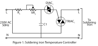 soldering iron temperature controller electronics project Bglt-89-Case Light Wiring Diagram at Automatic Iron Box Wiring Diagram
