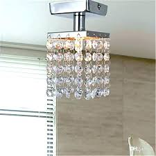spectacular semi ceiling light with glorious clear crystal producing unforgettable glitter small flush mount chandelier lighting