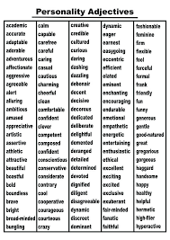 Resume Adjectives Amazing 618 Awesome Adjectives For Resume Gallery Entry Level Resume Templates