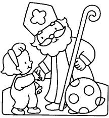 Kleurplaten Sinterklaas Afdrukken
