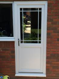 Upvc Back Door And Frame Home Interior Furniture