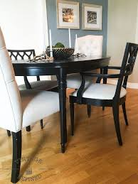 painted dining room furnitureDining Room Update  Painting Dining Table  Chairs  Hometalk