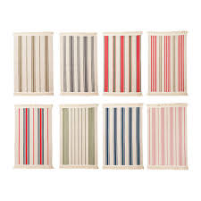 details about ikea signe flatwoven area kitchen rug striped entry washable 100 cotton 20x30