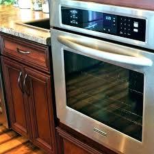 kitchenaid wall oven combo microwave 27