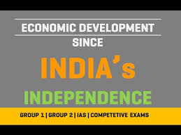 economic development since independence   economic development since independence 1947 2017