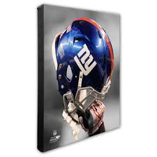 new york giants 16 x 20 helmet photo on ny giants canvas wall art with new york giants wall decor prints canvases official new york