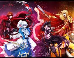 rwby yang xiao long blake belladonna weiss schnee ruby rose wallpaper