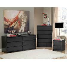 dresser and chest set. Get Quotations · Laguna Double Dresser, 5-Drawer Chest And Nightstand Set, Black Woodgrain Dresser Set E