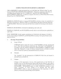 Website Design And Development Contract Template 027 Freelance Graphic Design Contract Example