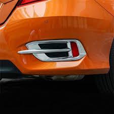 2016 Nissan Rogue Fog Light Cover Buy Deautobug Abs Chrome Finish Rear Fog Light Decoration
