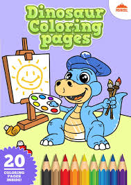Rex is sure to please. File Dinosaur Coloring Pages Printable Coloring Book For Kids Pdf Wikimedia Commons