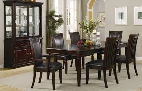 Modern Dining Room Set Warm Walnut Finish Contemporary Dining Table W Optional Chairs