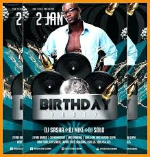 Free Birthday Posters Birthday Bash Flyer Template Multiple Free Top Best Party Templates
