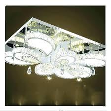 crystal ceiling light fixtures flush mount crystal g light flush mount awesome rectangular for modern led crystal ceiling light fixtures flush