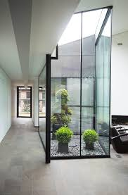 House Interior Garden Design Adapted To The Needs Of An Elderly Couple Family House In