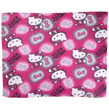Hello kitty ink matching bedding and bedroom accessories childrens