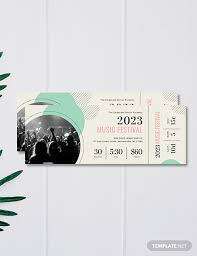 Free Fundraising Ticket Template Download 96 Tickets In Psd Word