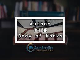 Hazel Holt Body of Works – Oeuvre - Australia Unwrapped