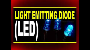 Physics Project On Light Emitting Diodes Light Emitting Diode Led Plus Two Physics Videos