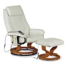 massage chair and footstool. white/cream ashton massage recliner swivel chair 8 motors and footstool from centurion pine massage chair and footstool