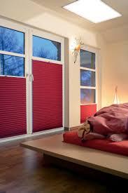 Plissee Rollos Auf Maß Im Schlafzimmer Sichtschutz