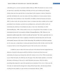 child sexual abuse research paper the most 5