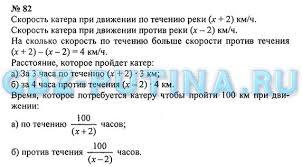 ГДЗ решебник по математике класс Зубарева Мордкович