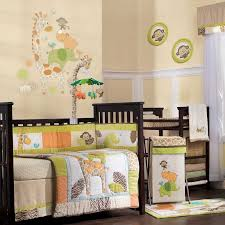 carter s nursery bedding sets bedding sets carter s image carter s wildlife 4 piece crib bedding set
