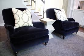 denim navy blue accent chair for living on the best navy velvet accent chairs living room