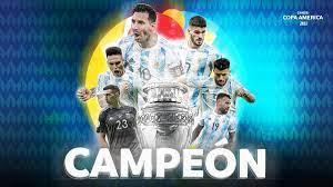 """Copa América on Twitter: """"¡ARGENTINA CAMPEÓN!🇦🇷🏆 La selección argentina  volvió a conquistar y hacer vibrar el continente tras 28 años, ante su  clásico rival en el mítico Maracaná 🏟️. ¡La espera terminó! ¡"""