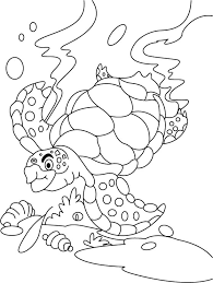 Small Picture Turtle searching something coloring pages Download Free Turtle
