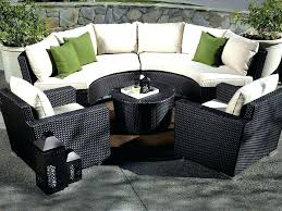 black garden furniture covers. Circular Outdoor Furniture Black Patio Large Round Garden Sets Covers T