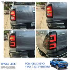 Revo Led Lights Details About For Toyota Hilux Revo M70 M80 2015 2016 Set Black Smoke Lens Led Tail Lamp Light