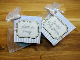 dels about baby shower scented candles favours tealights spots and stripes blue boy x10