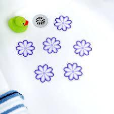bathtub appliques photo 1 of 6 stickers non skid treads slip adhesive tub by rubbermaid