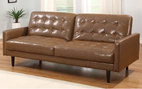 Leather Sleeper Sofas Faux Queen Sofaleather Size Sofa American With