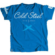 <b>Футболка Cold Steel Cross</b> Guard Blue Tee for Women (L) CS_TK3 ...