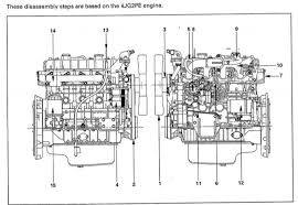 isuzu 4jg2 engine factory service shop manual quality service complete workshop service manual for isuzu 4jg2 engine it s the same service manual used by dealers that guaranteed to be fully functional and intact