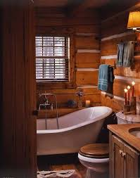 best 25 log cabin bathrooms ideas