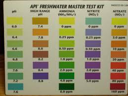 Water Test Chart Noob Testing Water 10 Gallon Tank Freshwater Beginners 81015